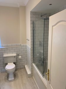 Burlington Bathroom remodel renovation new toilet Henley-on-Thames