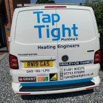 Taptight Plumbing & Heating Van